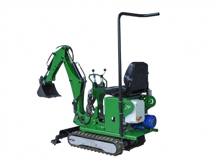 Elektrischer Mini-Bagger mit Plug-in-72 cm