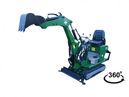Minibagger LIBELLULE (Libelle) MPT-72-800-S